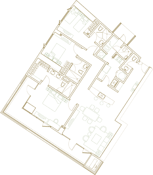 3br deluxe map